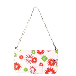 Bag For Lady with Bracelet Flower Pearl Phone Case For Oppo R15 Dream Flip PU Leather Wallet