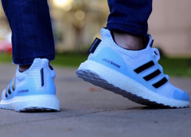 """Game Of Throne X Adidas Ultra boost """" White Walker """"   Shopee Việt Nam"""