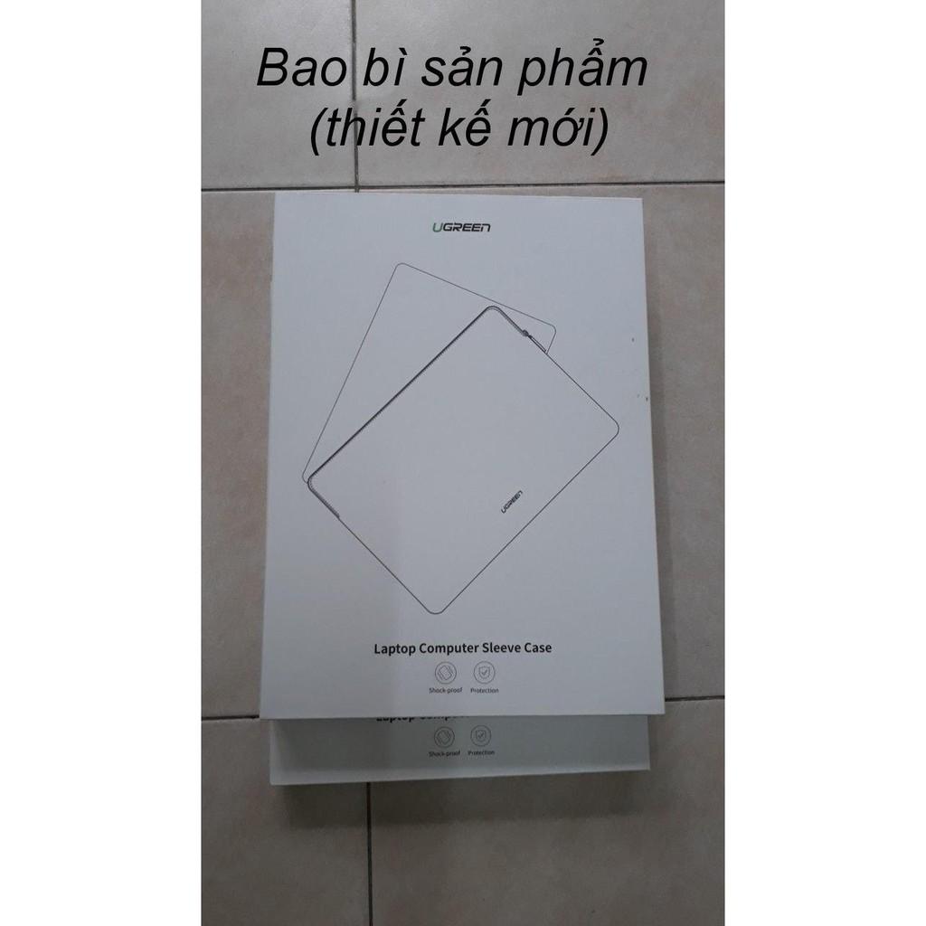 Túi đựng bảo vệ iPad bằng da, lót lông chống sốc, kích thước 9.7 inch, 13.3 inch, 15.4 inch UGREEN...