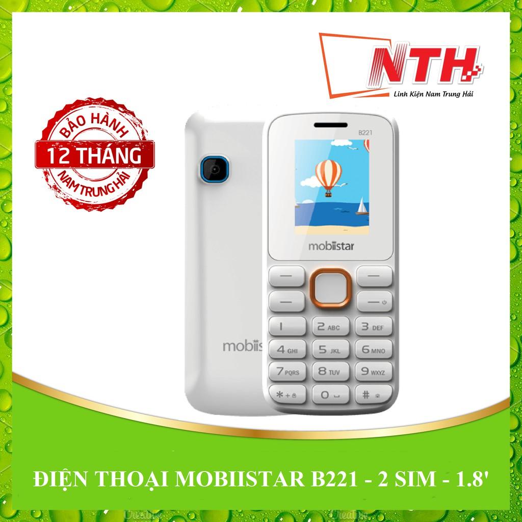 [NTH] ĐIỆN THOẠI MOBIISTAR B221 HOT 1.8 IN