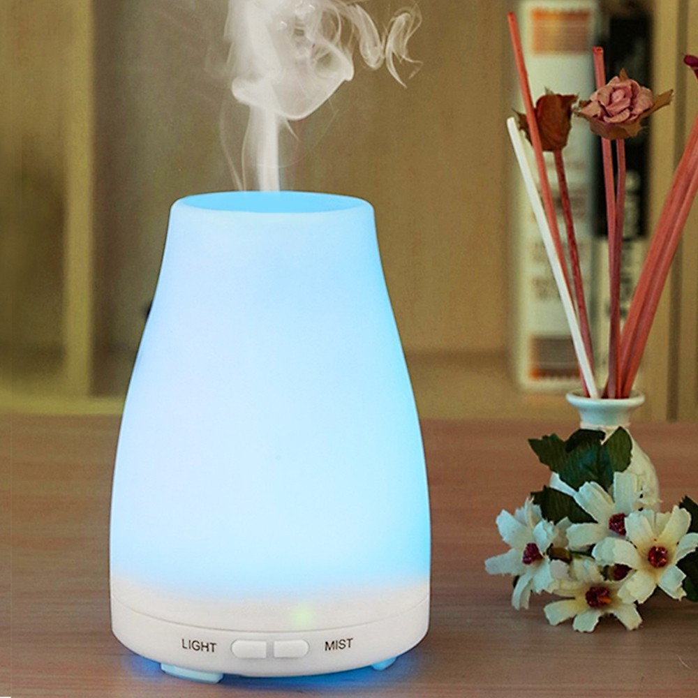 [HOME20K9 GIẢM 20K] (Đang bán) Bộ sản phẩm đèn Led khuếch tán xông tinh dầu,Humidifier
