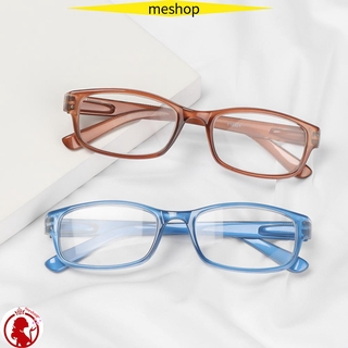 🍒ME🍒 +1.00~+4.00 Reading Glasses Vision Care PC Frames Presbyopic Glasses Portable Ultralight High-definition Unisex Eyeglasses/Multicolor