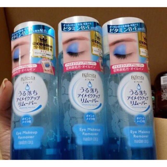 Nước tẩy trang mắt - môi Bifesta 145ml