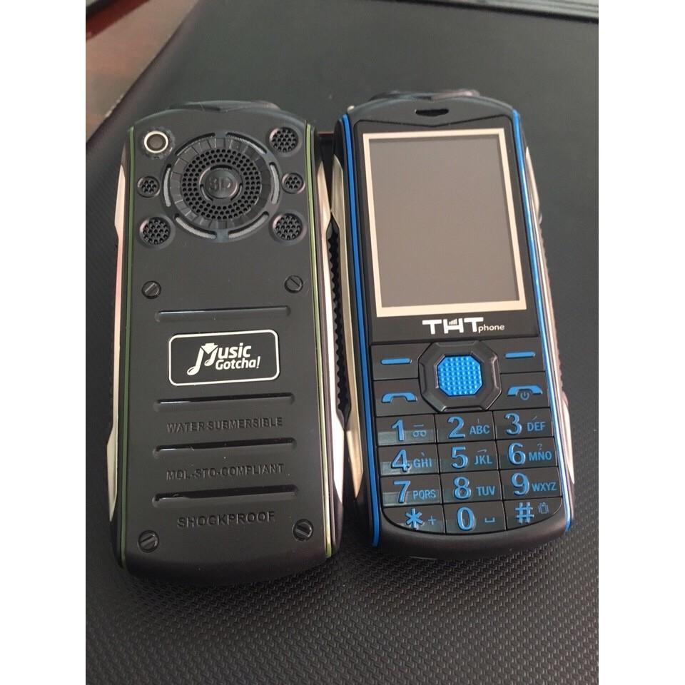Điện thoại THT F6 full box XEM TIVI PIN SIÊU KHỦNG 16.000 MAH