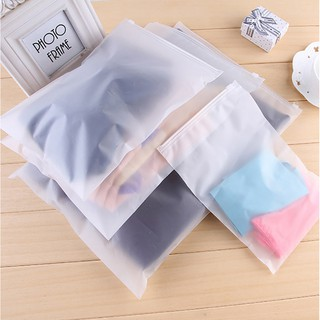 Combo 10 Túi zip chuyên đựng quần áo , đồ trang điểm chống thấm nước MALEROADS MLS2704 thumbnail