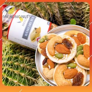 Bánh Đồng Tiền Mix Các Loại Hạt Siêu Ngon Và Dinh Dưỡng ❤️ Hạt Tuyển Chọn Loại 1 ❤️ Mekongnuts
