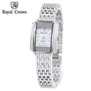 [Mã FARSBRT52 giảm 20% đơn từ 249K] Đồng hồ nữ chính hãng Royal Crown 3645 dây thép thumbnail