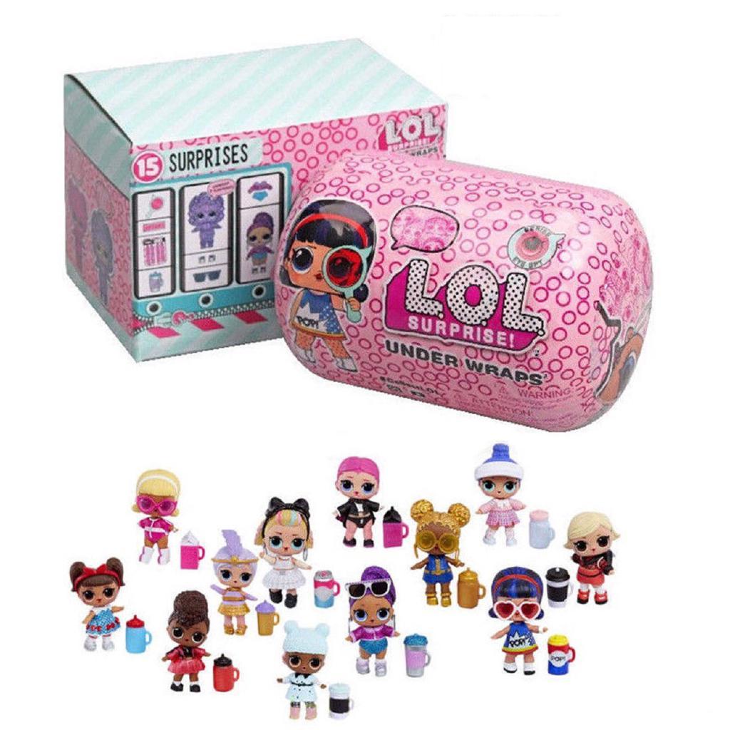 L.O.L. Surprise Doll Under Wraps Doll Kids baby Toy Series Eye Spy Ngạc Nhiên Dưới Búp Bê Kết Thúc