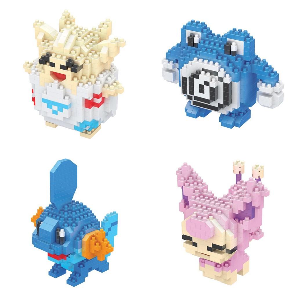 Bộ lắp ghép Lego hình Pokemon dễ thương