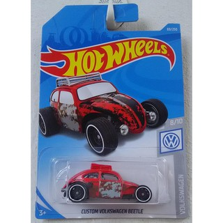 Xe mô hình Hot Wheels Custom Volkswagen Beetle FYD61
