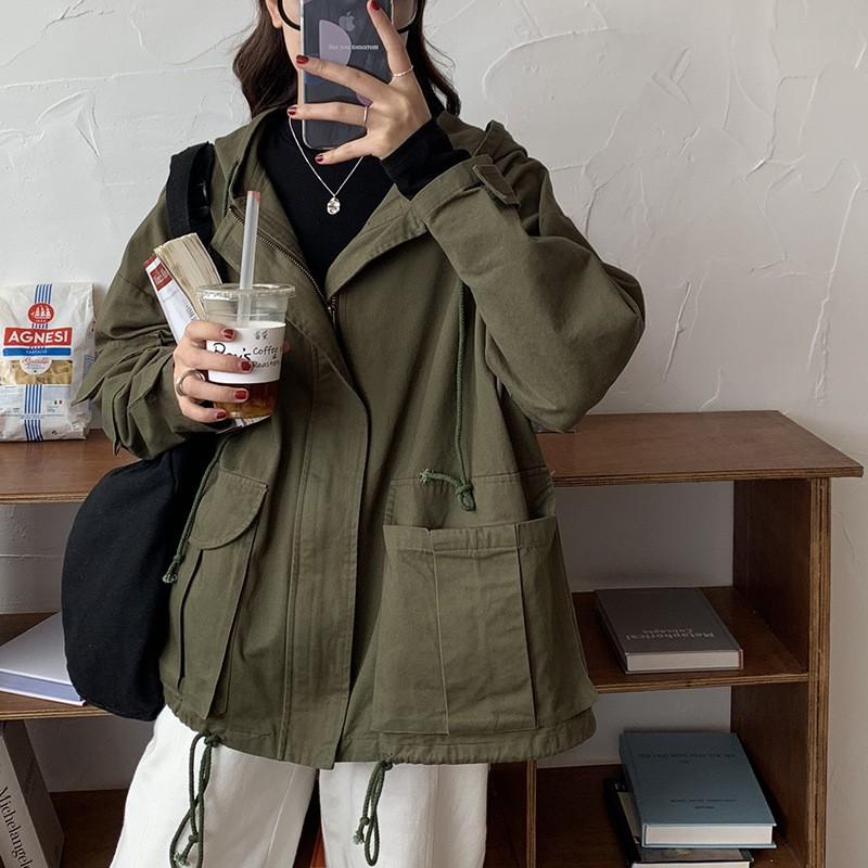 áo khoác nữ có túi