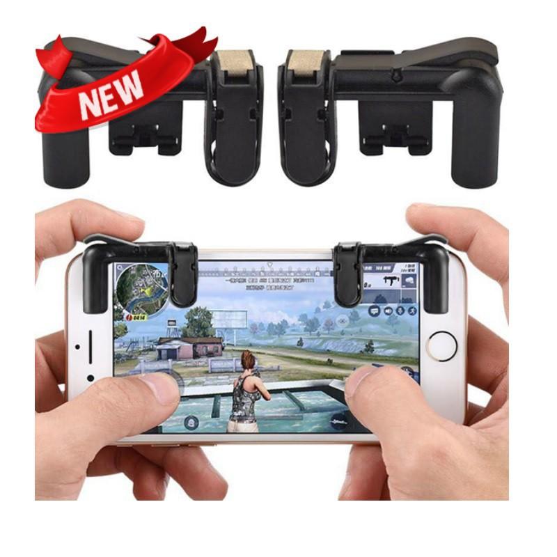 Bộ 2 Nút Bấm Chơi Game K01 Hỗ Trợ Chơi Pubg Mobile, Ros Mobile Trên Mobile, IpadHàng mới về [Hot][New]