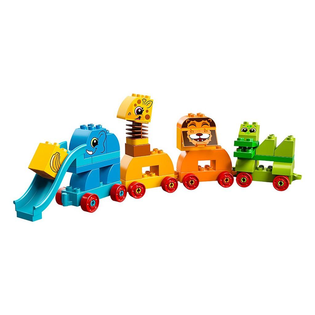 Hộp Lắp Ráp Động Vật Đầu Tiên Của Bé LEGO Duplo 10863 (34 Chi Tiết)