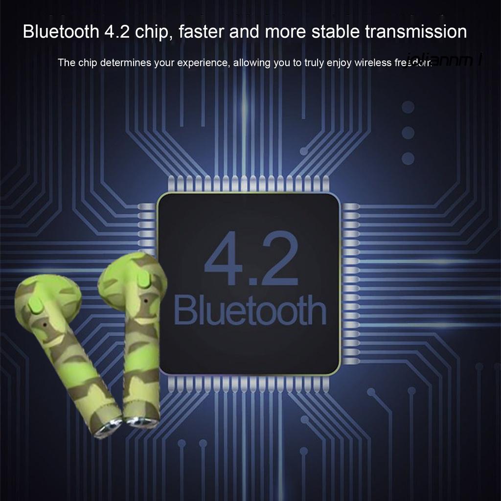 Tai Nghe Bluetooth 4.2 I7s Tws Kèm Hộp Sạc