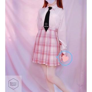 Chân váy JK xếp ly đại học phiên bản ước mơ nữ sinh nhà Dory