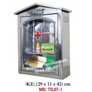Tủ thuốc y tế, tủ thuốc gia đình inox TS.07-L