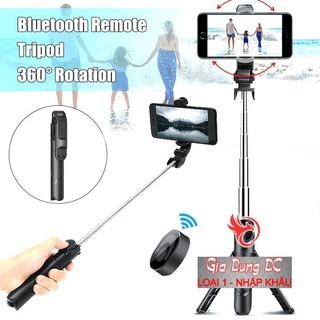[Cam Kết Loại 1] Gậy Chụp Ảnh Tự Sướng 3in1 có Bluetooth ,3 Chân Đa Năng, Chụp Hình, Giá đỡ điện thoại livestream