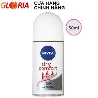 Lăn Ngăn Mùi Khô Thoáng Tức Thì Nivea Dry Comfort Hiệu Quả Suốt 48h 50ml - 81611