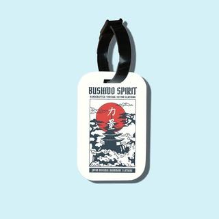 Travel tag cho túi xách balo du lịch in hình Japanese Art - Bushido Spirit thumbnail