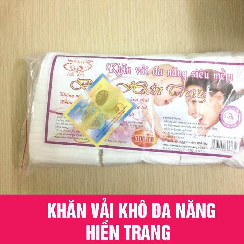 Khăn vải khô đa năng FREESHIP Hiền Trang gói 210g
