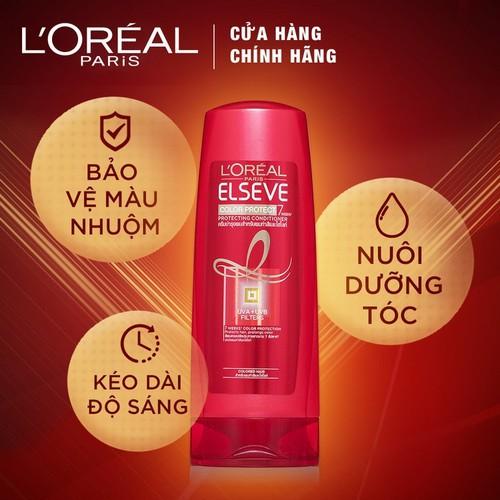 Dầu xả bảo vệ dành cho tóc nhuộm Elseve Color Protect Conditioner 280ml