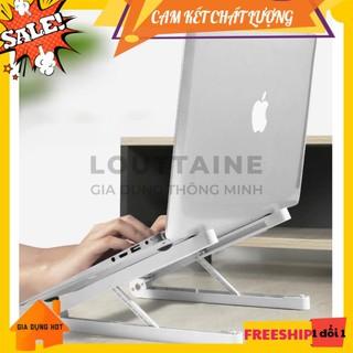 Giá đỡ laptop macbook để bàn gấp gọn dễ dàng điều chỉnh độ cao hỗ trợ tản nhiệt