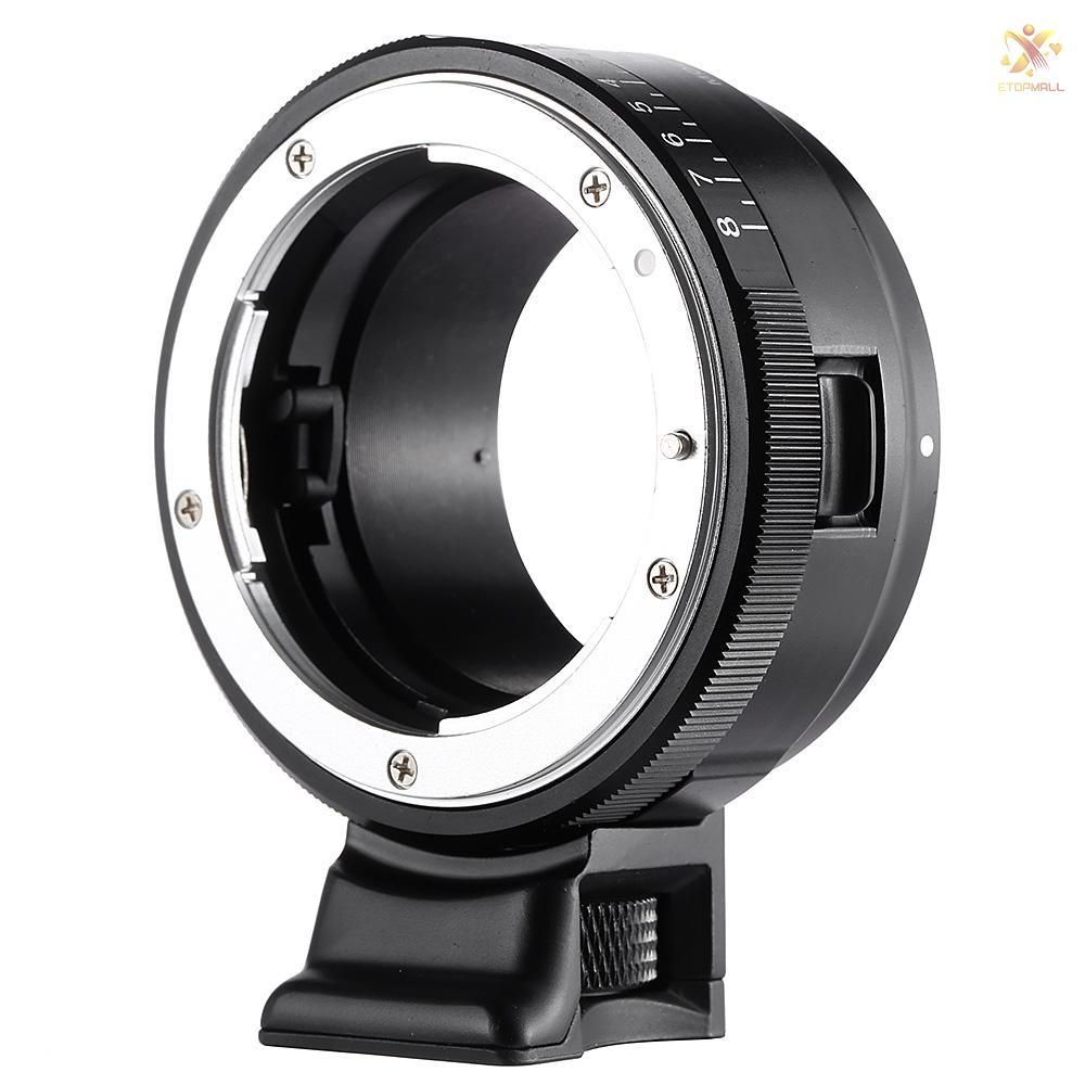 ET VILTROX NF-NEX Mount Adapter Ring for  G/F/AI/S/D Lens to  E Mount Camera A7/A7R/NEX-5/NEX-3/NEX-5N/NEX-C3/NEX-5R/NEX-F3/NEX-6/NEX-7/NEX-VG10/VG20/VG30