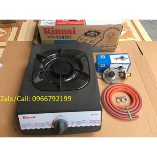 [Mã ELFLASH5 giảm 20K đơn 50K] Bếp ga đơn Rinnai RV-150 + Bộ van dây