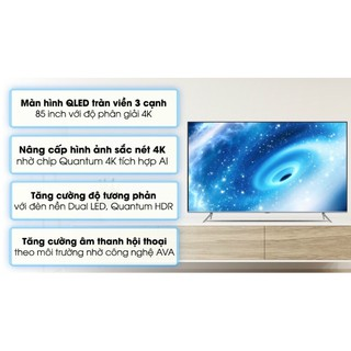 Smart tivi QLED Samsung 4K 85inch QA85Q70T.model 2020