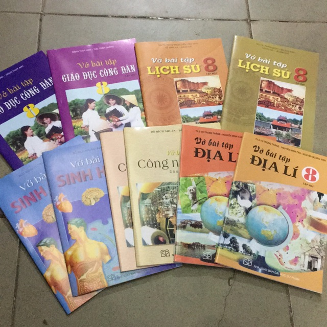 Sách - Combo 5 bộ vở bài tập lớp 8 , lịch sử, địa lý , công nghệ, sinh học, giáo dục công dân tập 1+ - 3525590 , 1266019234 , 322_1266019234 , 202000 , Sach-Combo-5-bo-vo-bai-tap-lop-8-lich-su-dia-ly-cong-nghe-sinh-hoc-giao-duc-cong-dan-tap-1-322_1266019234 , shopee.vn , Sách - Combo 5 bộ vở bài tập lớp 8 , lịch sử, địa lý , công nghệ, sinh học, giáo