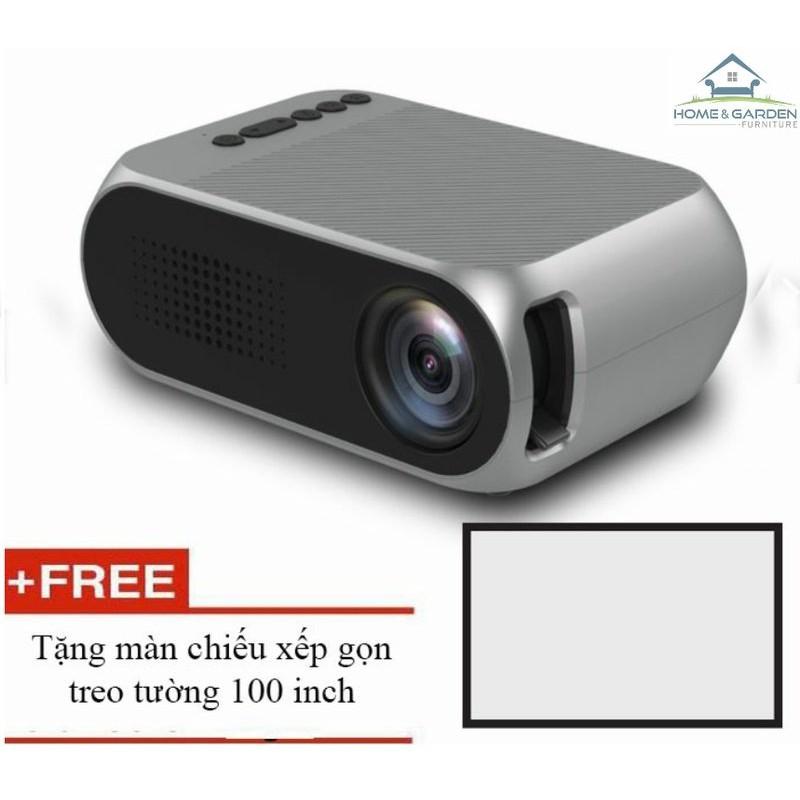 Máy chiếu phim mini YG320 màn ảnh rộng + tặng màn chiếu 100 inch - Home and Garden - 3581540 , 1206976782 , 322_1206976782 , 1500000 , May-chieu-phim-mini-YG320-man-anh-rong-tang-man-chieu-100-inch-Home-and-Garden-322_1206976782 , shopee.vn , Máy chiếu phim mini YG320 màn ảnh rộng + tặng màn chiếu 100 inch - Home and Garden