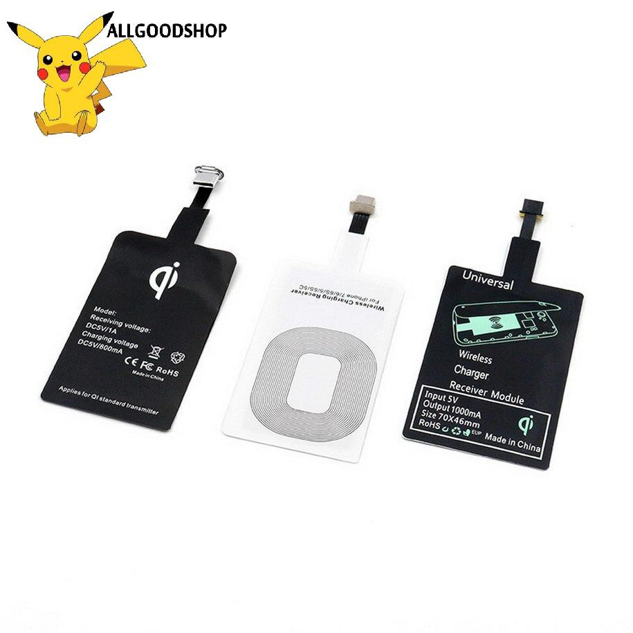 111all} Wireless Charger Adapter Wireless Receiver Type-C/Android/Apple Interface
