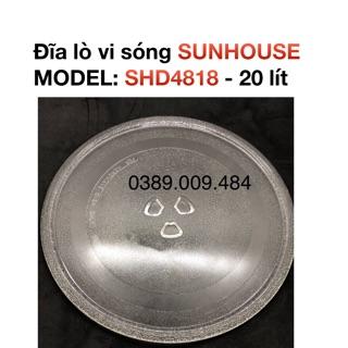 Đĩa quay lò vi sóng Sunhouse SHD4818- 20 lít thumbnail