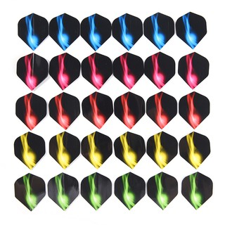 HEL❤ 6Pcs Darts Flights Wing Lightning Pattern For Professional Darts Win
