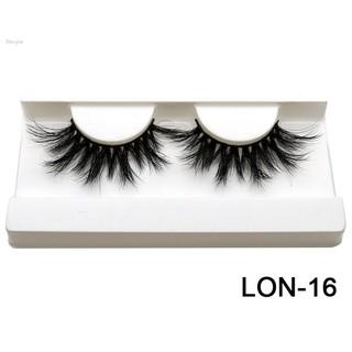 Renjie 25mm Mink Hair False Eyelashes Long Cross Thick Fake Eye Lashes Extension