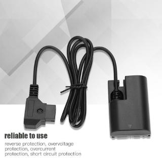 D-Tap Male to LP-E6 Battery Power Adapter Cable for Canon 5D2 6D 7D thumbnail