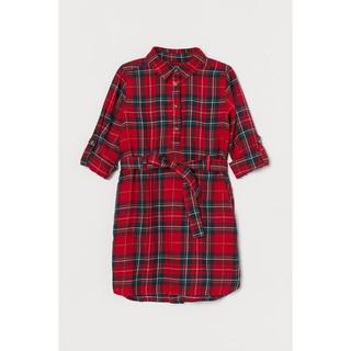 Váy caro đỏ HM H&M _hàng chính hãng Anh
