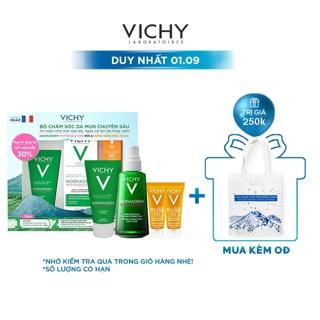 """Bộ chăm sóc da chuyên sâu giúp giảm dầu giảm mụn, phục hồi và nuôi dưỡng da Vichy Normaderm Phytosolution Double-Correct giá chỉ còn <strong class=""""price"""">46.900.000.000đ</strong>"""