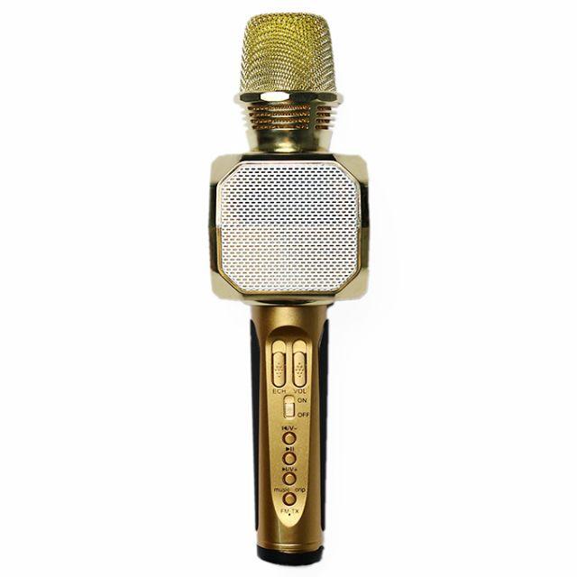 [Có ảnh thật] Mic Karaoke Bluetooth SD-10 hàng loại 1 hút âm tốt