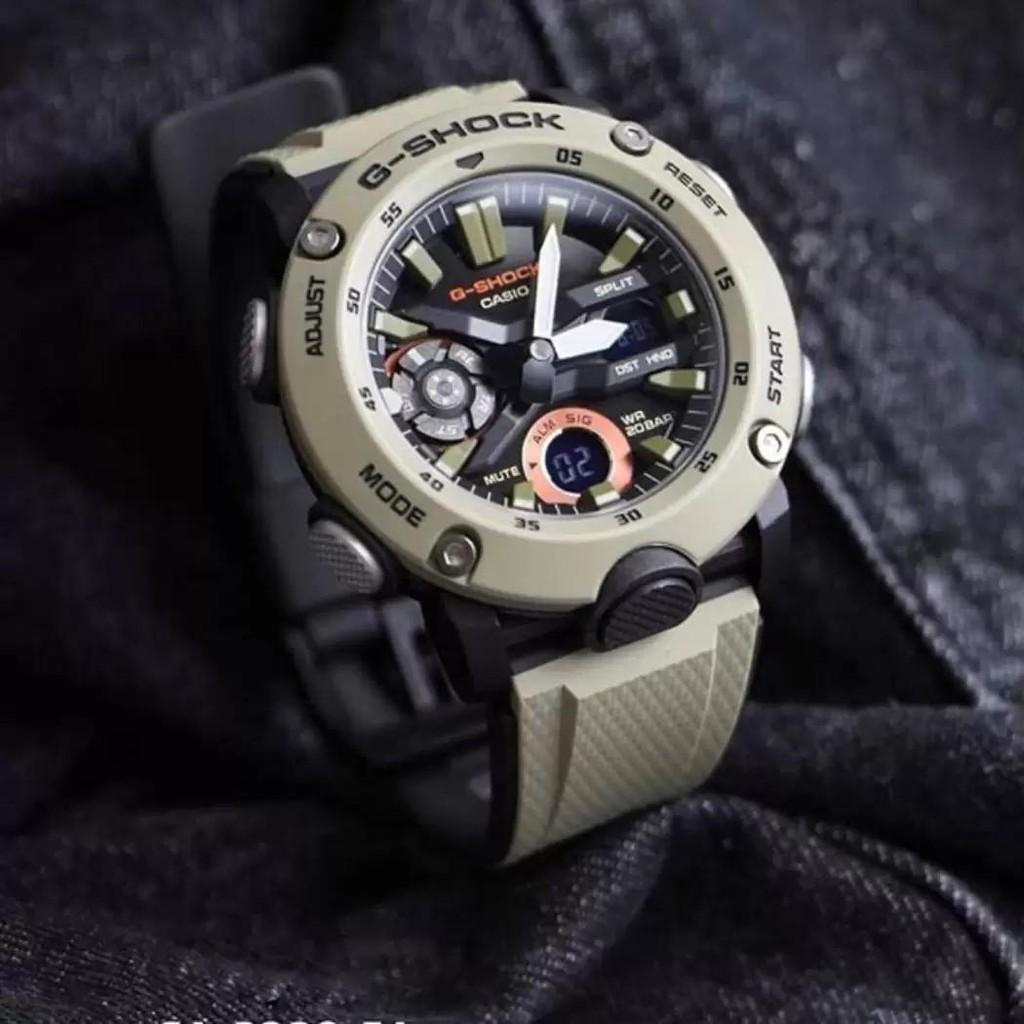 Đồng hồ Nam Dây Nhựa Casio G-Shock GA-2000-5A chính hãng bảo hành 5 năm Pin trọn đời