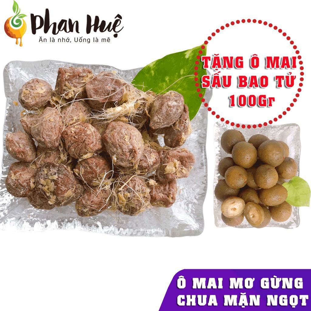 Ô mai xí muội mơ gừng chua mặn ngọt Phan Huệ đặc biệt. Mơ miền bắc chọn lọc. Đặc sản Hà Nội.