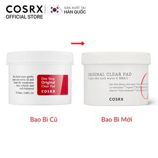 Bông Tẩy Tế Bào Chết Hoá Học COSRX One Step Original Clear Pad 70 Miếng-1