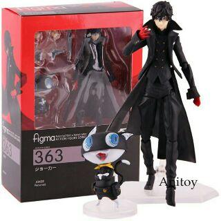 Max Factory Figma 363 Persona 5 Shujinkou và Morgana Joker Hình Đồ chơi
