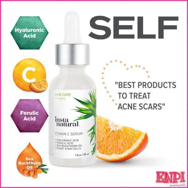 Serum dưỡng trắng, trị thâm, chống lão hóa vitamin c của Instanatural
