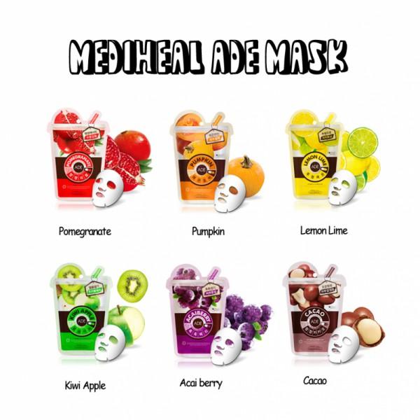 Mediheal - Mặt nạ ADE hoa quả
