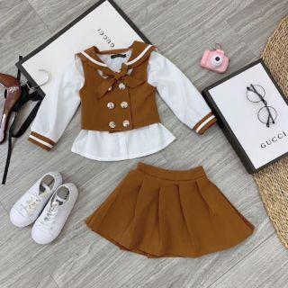 Set váy bé gái cực yêu