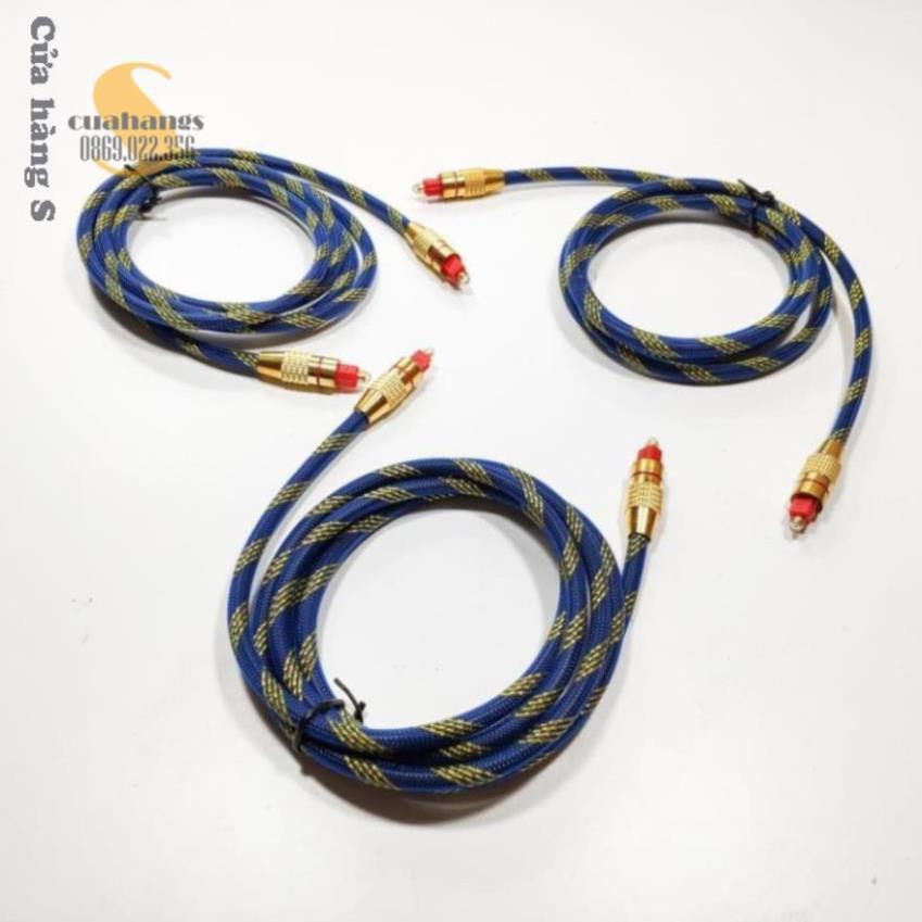 Dây cáp optical bọc sợi đầu kim loại - chất lượng cao nhiều màu