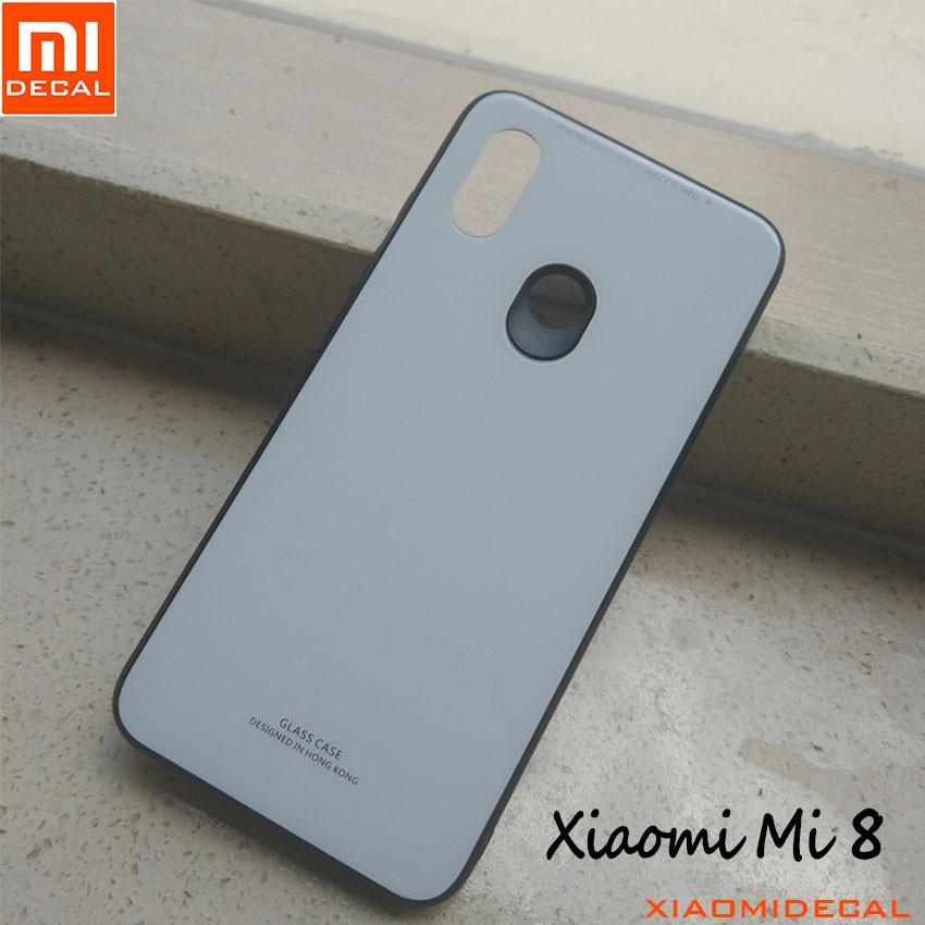 [ Xiaomi Mi 8 ] Ốp mặt lưng kính cường lực viền cao su dẻo - Trắng - 3441719 , 1282419568 , 322_1282419568 , 69000 , -Xiaomi-Mi-8-Op-mat-lung-kinh-cuong-luc-vien-cao-su-deo-Trang-322_1282419568 , shopee.vn , [ Xiaomi Mi 8 ] Ốp mặt lưng kính cường lực viền cao su dẻo - Trắng