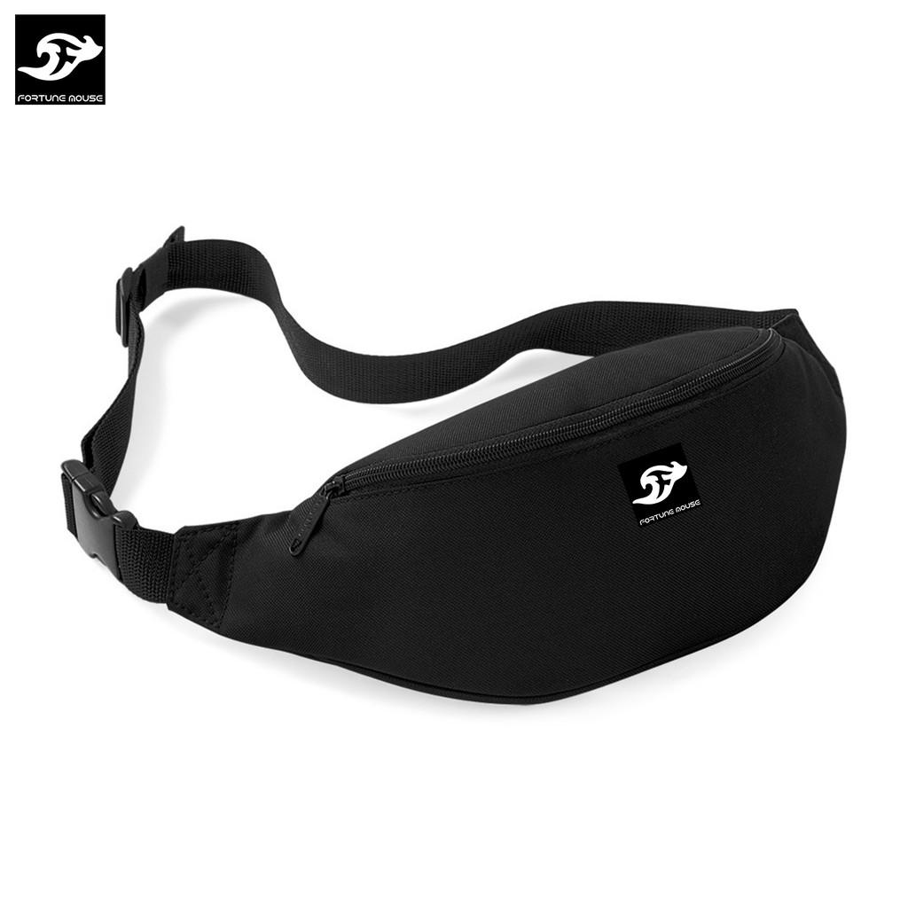 Túi đeo chéo nam Fortune Mouse classic KQ195 (màu đen)