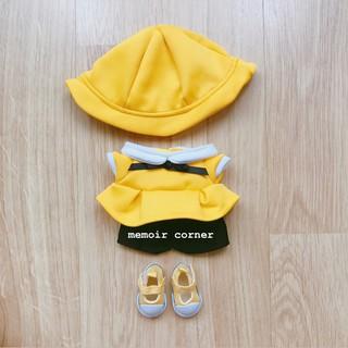 Outfit cho Doll 20cm – Set Mẫu giáo